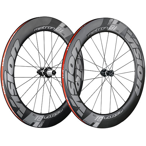 Vision Metron 81 TL Disc Wheelset