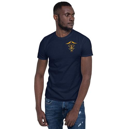 """""""Ascended Masters Sigil"""" Short-Sleeve Unisex T-Shirt (W/Side & Back Sigil)"""