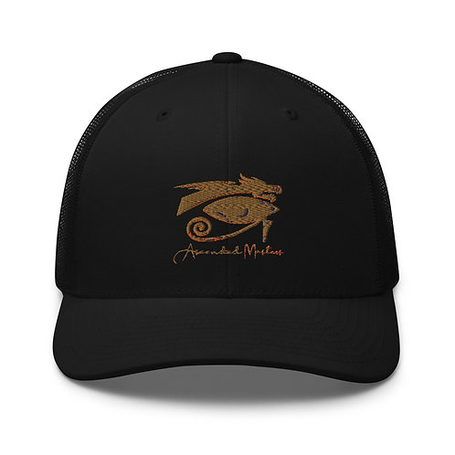 """""""Ascended Masters"""" Embroidered  Trucker Cap"""