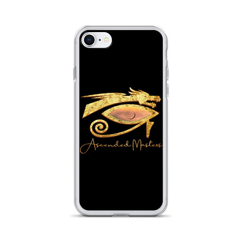 """""""Ascended Masters"""" iPhone Case Black"""