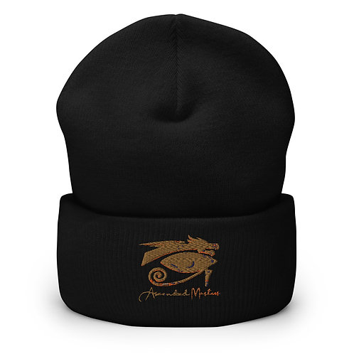 """""""Ascended Masters"""" Embroidered Cuffed Beanie"""