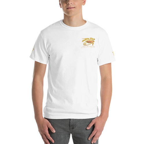 """""""Ascended Masters"""" Short Sleeve T-Shirt (w/Side & Back sigil symbol)"""