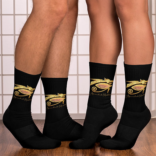 """Ascended Masters"" Socks Black"