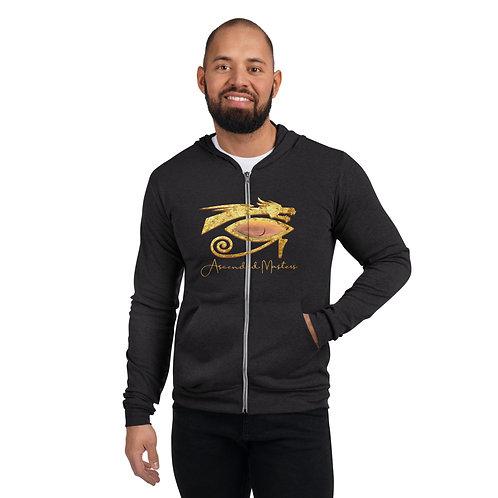 """""""Ascended Masters"""" Unisex zip hoodie"""