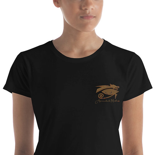 """""""Ascended Masters"""" Embroidered Women's short sleeve t-shirt"""