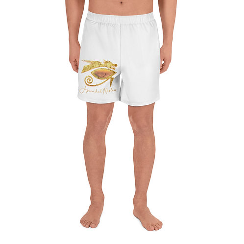 """""""Ascended Masters"""" Men's Athletic Long Shorts"""