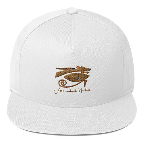 """""""Ascended Masters"""" Embroidered Flat Bill Cap"""