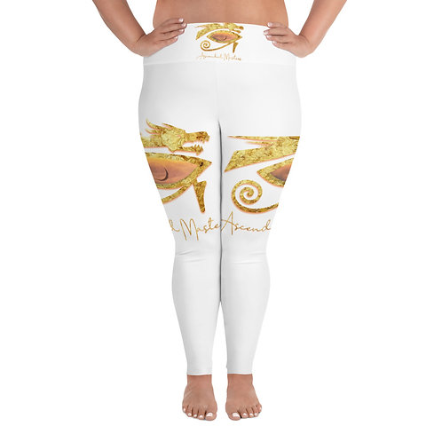 """Ascended Masters"" All-Over Print Plus Size Leggings"