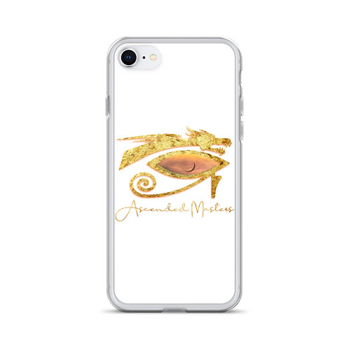 """'Ascended Masters"""" iPhone Case White"""
