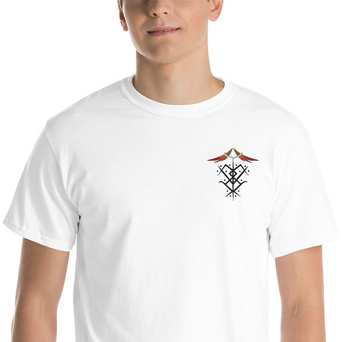 """Ascended Masters Embroidered Sigil"" Short Sleeve T-Shirt"