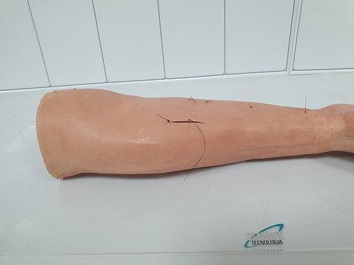 Braço para sutura
