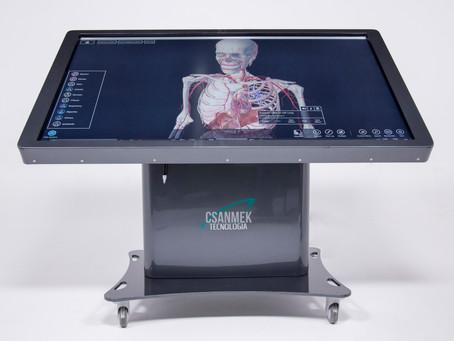 Plataforma 3D de simulação anatômica atinge R$ 2,5 milhões em negócios no exterior