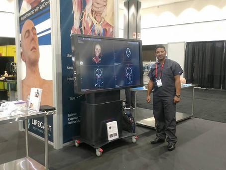 Tecnologia brasileira de simulação anatômica é destaque em congresso médico nos Estados Unidos