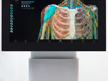 Simulador 3D de anatomia ganha mercados na China, EUA e Polônia