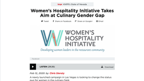 Women's Hospitality Initiative Takes Aim at Culinary Gender Gap