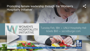 Promoting female leadership through the 'Women's Hospitality Initiative'
