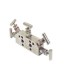 Integral Mounting for Differential Pressure Transmitter Astava 5 way 543