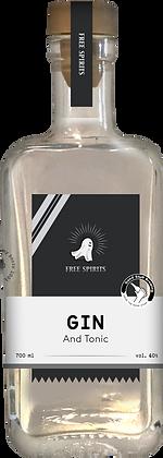 Free spirits Classic Gin 100ml