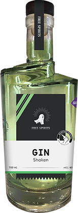 Free Spirits –  Gin Shaken 700ml