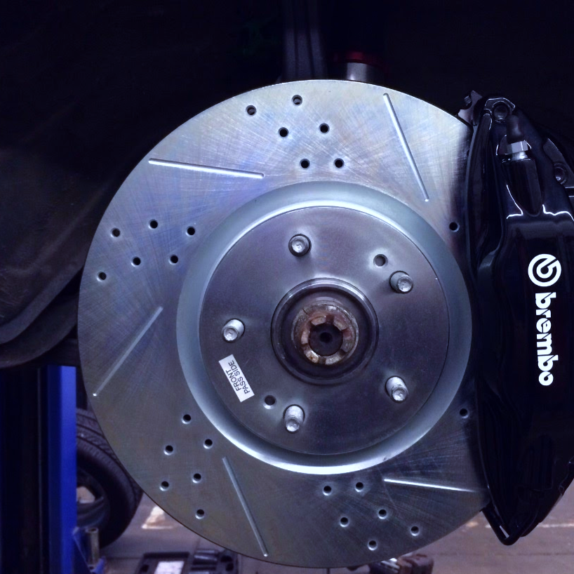 performance brake set up