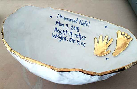 Personalized-pregnancy-belly-cast-bowl-b