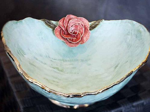 Single Rose Maternity Bowl