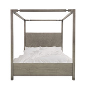 Canopy Post Bed Moonstone Gray