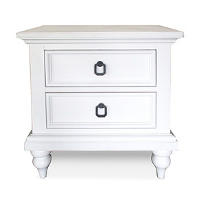 Bedside Chest White