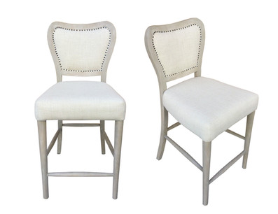 La Brea Uph Gathering Chair Washed Sand