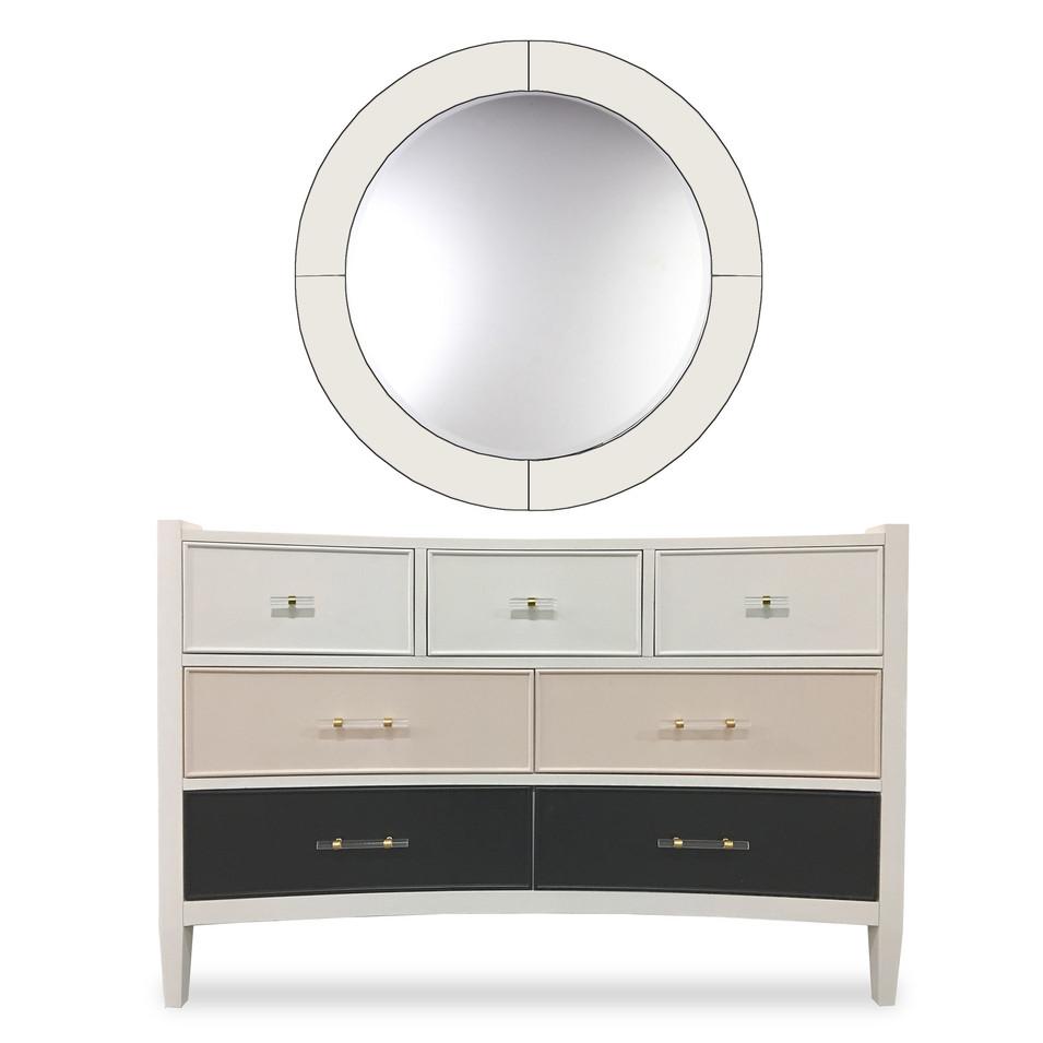 110 Drawer Dresser