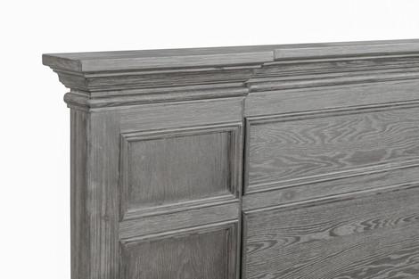 Sanremo Estate Bed Headboard detail Greystone