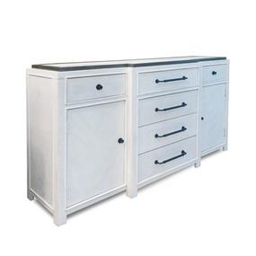 Breakfront Dresser