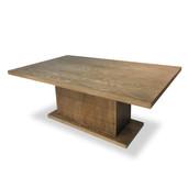 Pedestal Dining Table Coronado Brown