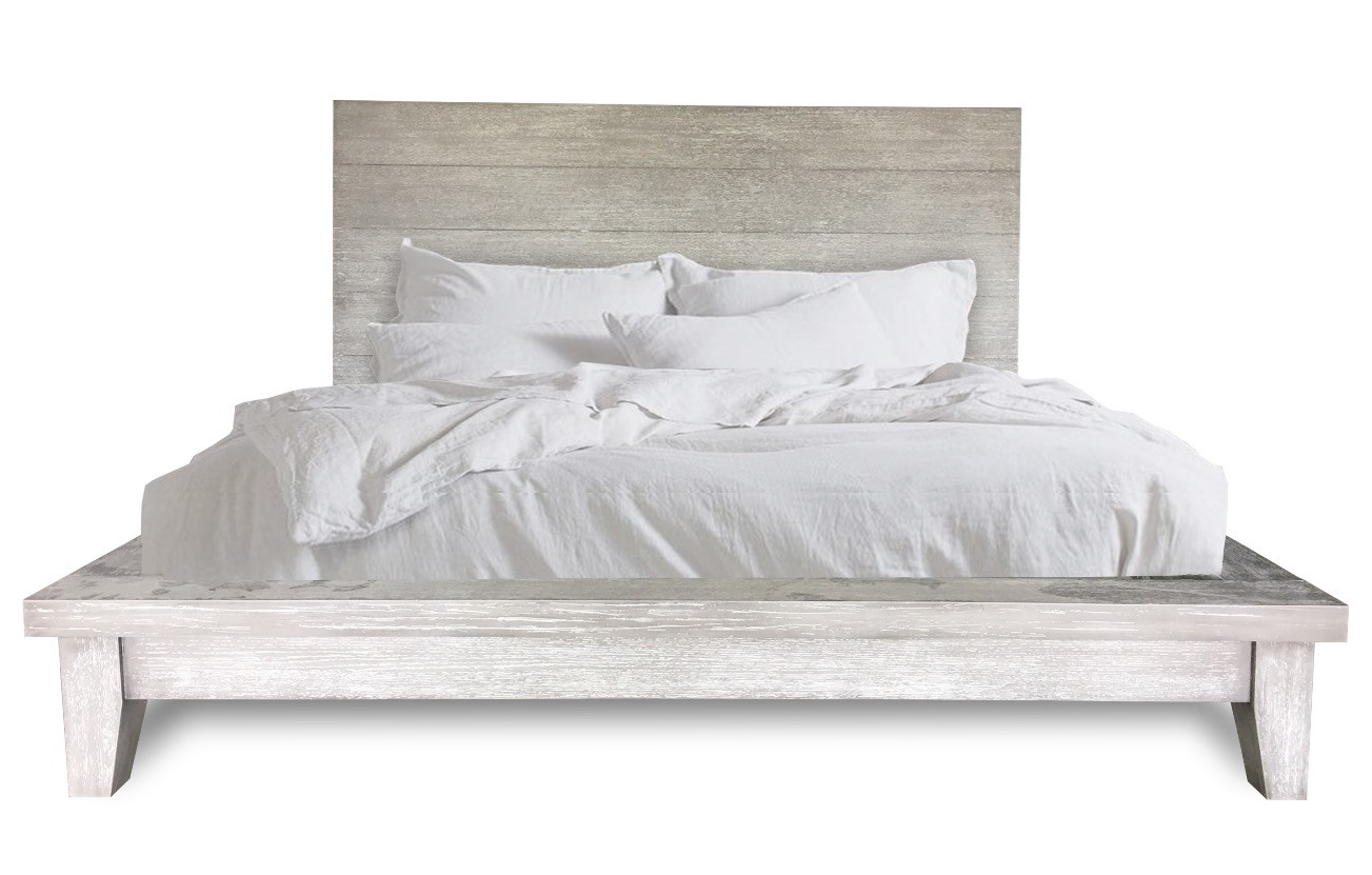 The Cliffs Wood Panel Bed