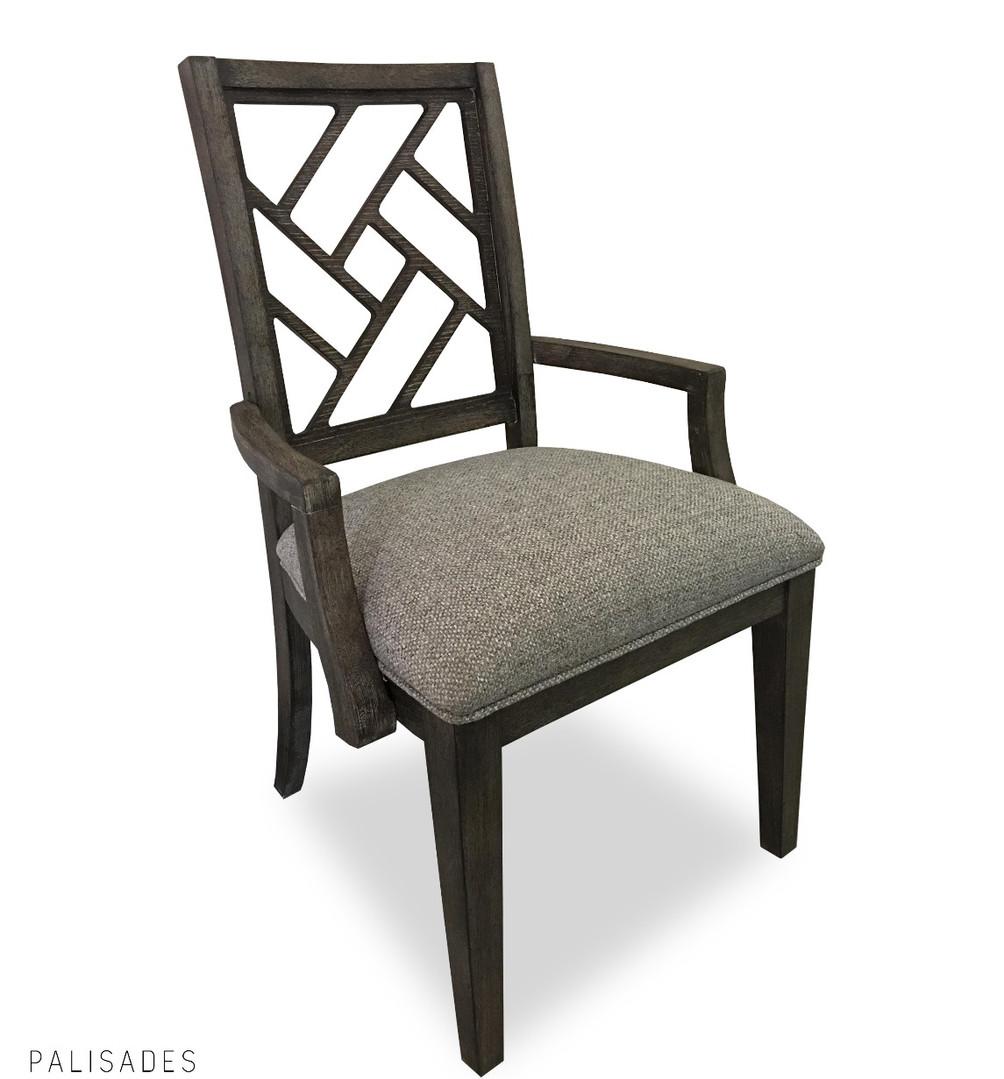 Lattice Arm Chair