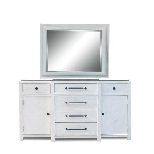 Breakfront Dresser / Landscape Mirror