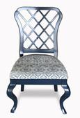 Fret Back Side Chair