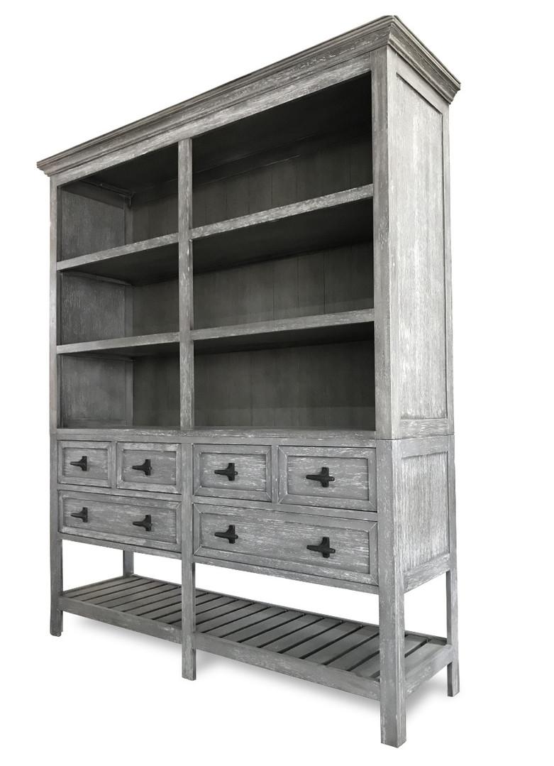 Open Shelf Cabinet