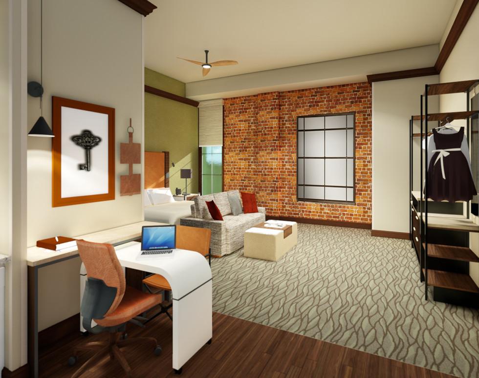 Homewood Suites Downtown Indie Elementum