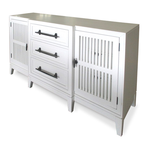 The Cliffs Slat Front Dresser