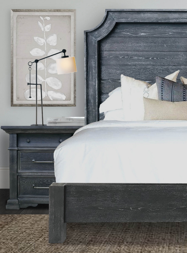 Grand Panel Bed