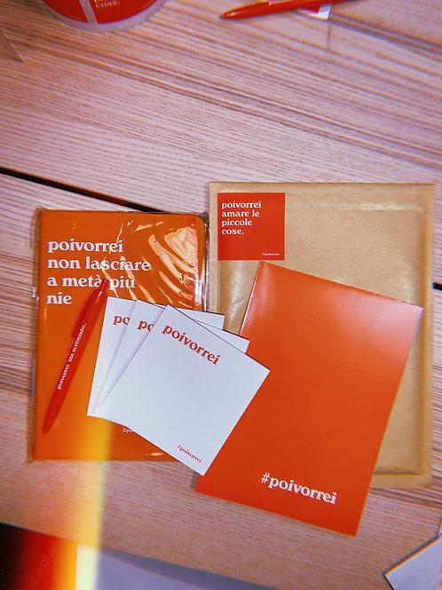 Promo notebook+blocchetti fogli