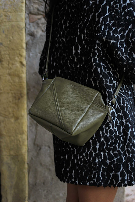 cubotto borsa in pelle donna a tracolla o a spalla