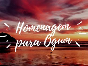 Homenagem para Ogum