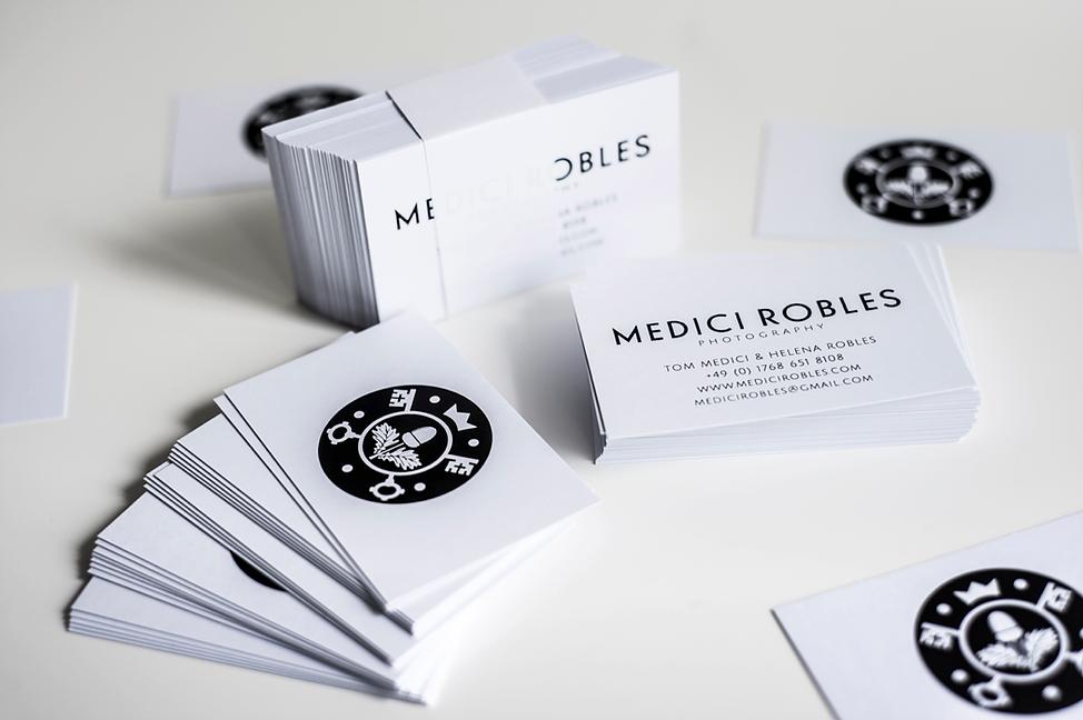 Medici Robles - Tarjetas Personales