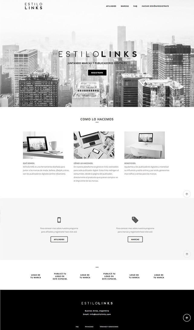 Estilo Links - WEB