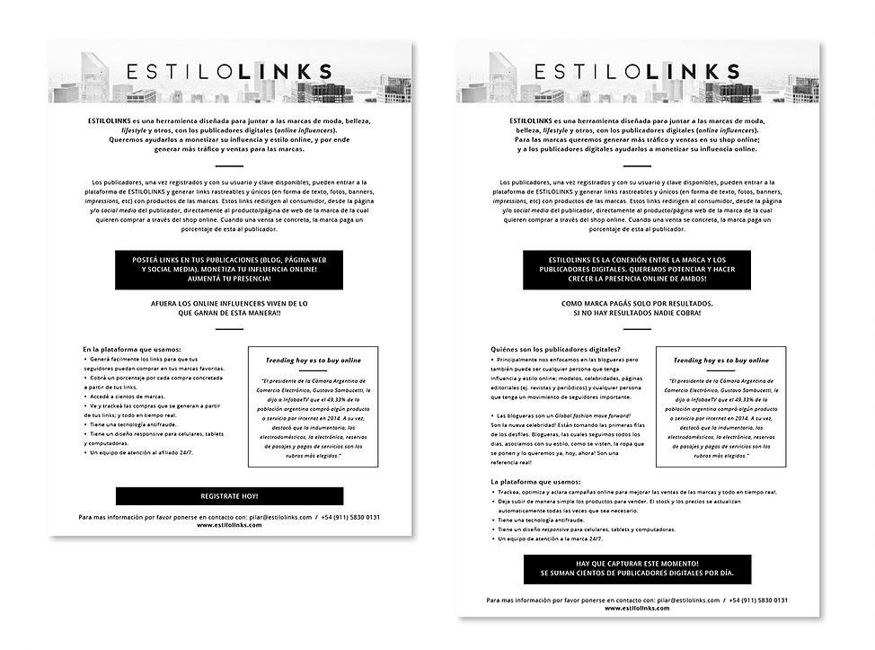 Estilo Links - Newsletter