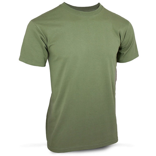 Green Combat t-shirt with logo