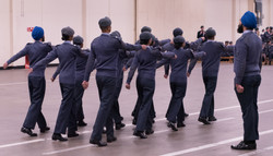 Cadets March Off