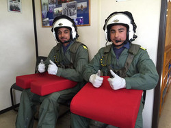 cadets flying